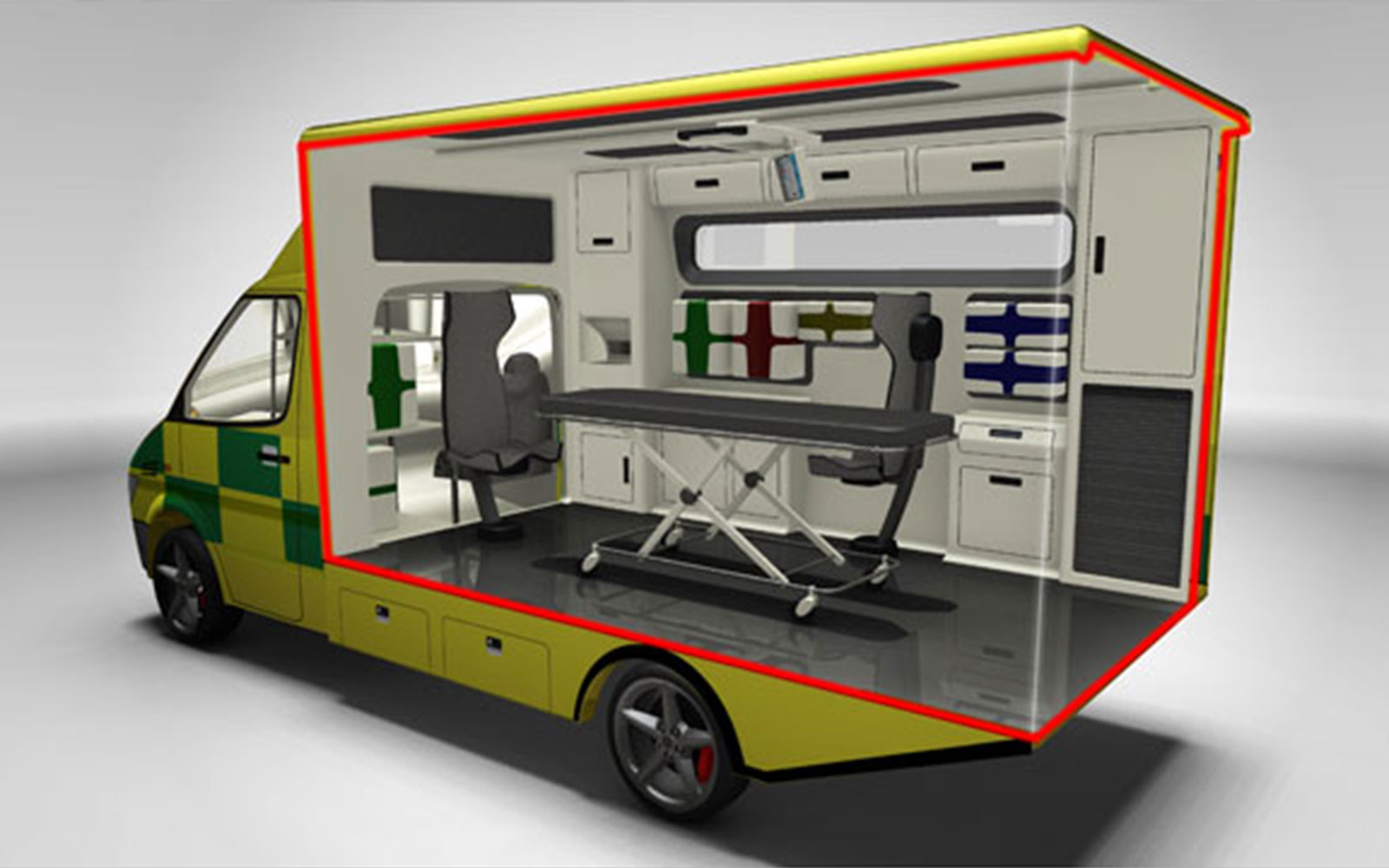 Ambulance redesign HHC